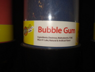 Bubble Gum Sour Powder Candy