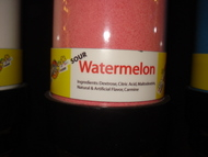 Watermelon Sour Powder Candy