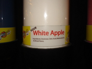 White Apple Sour Powder Candy
