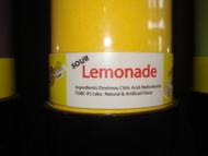 Lemonade Sour Powder Candy