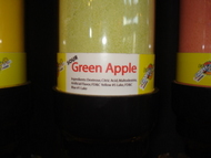 Green Apple Sour Powder Candy