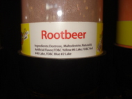 Rootbeer Sour Powder Candy