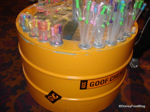 Goofy's Sour Powder Candy Tubes
