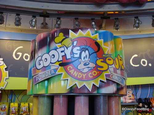 Goofy's Sour Powder Candy