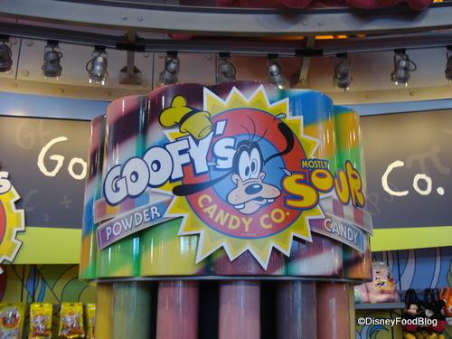 Goofy's Sour Powder Candy