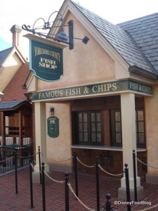 Yorkshire County Fish and Chips in Epcot World Showcase