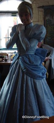 Cinderella Poses at a Character Breakfast