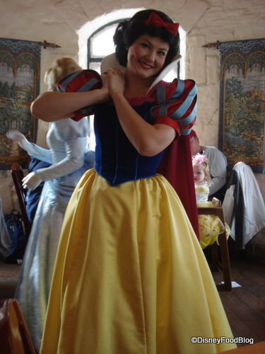 Snow White at Akershus Restaurant