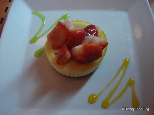 Tutto Italia Lemon and Strawberry Dessert