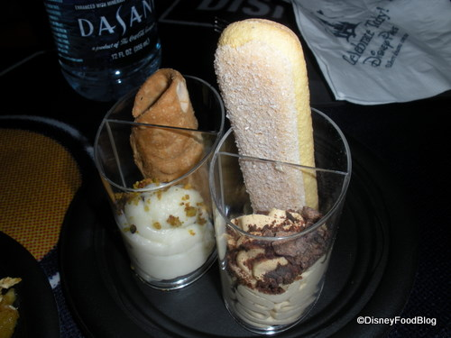 Tiramisu and Cannoli