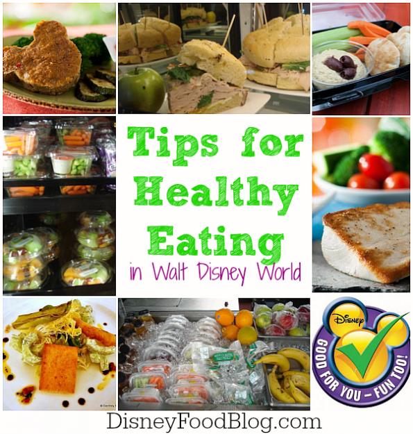 Tips for Eating Healthy in Walt Disney World