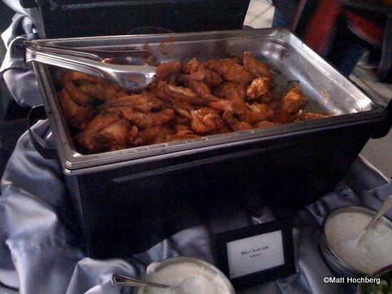Yum. Buffalo Chicken Wings.