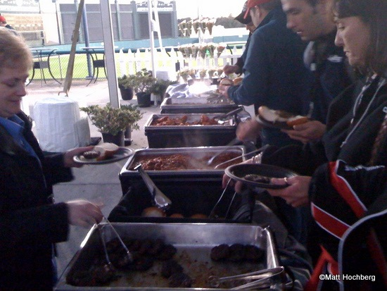 ESPN Wide World of Sports Event Food Line