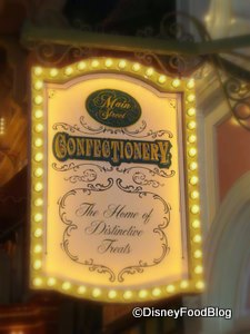 Disney World Main Street Confectionery