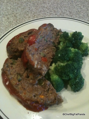 Plated Mom's Meatloaf Reveal