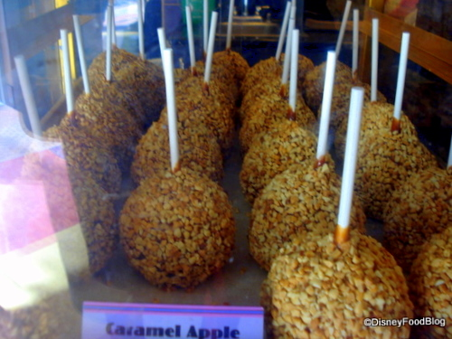 Caramel Apples With Nuts