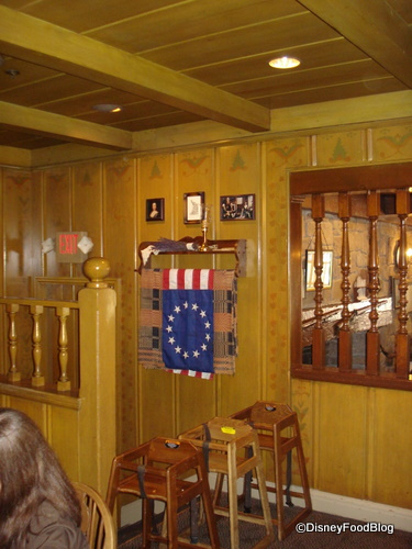 Flag in Betsy Ross Room