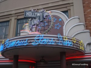 Hollywood and Vine Restaurant
