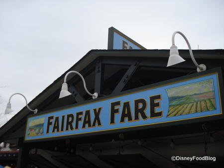 Disney's Hollywood Studios Fairfax Fare