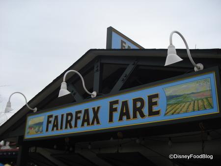 Disney's Hollywood Studios Fairfax Fare