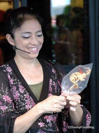 Miyuki and her Candy Art