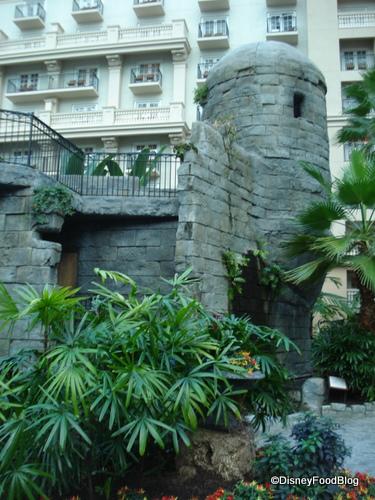 Courtyard Castle