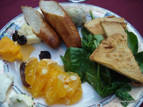A Sample Salad Plate of Mine