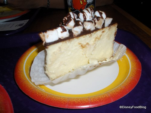Pop Century Smores Cheesecake