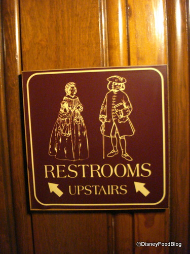 Restrooms Upstairs