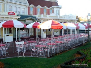 Casey's Corner Outdoor Tables