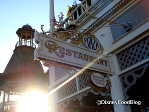 Plaza Restaurant in Disney World