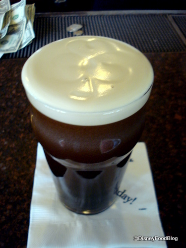 Shamrock Design on Top of Guinness