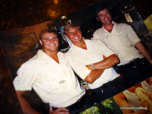 Carl's Early Days at Rose and Crown...He's the One in the Middle