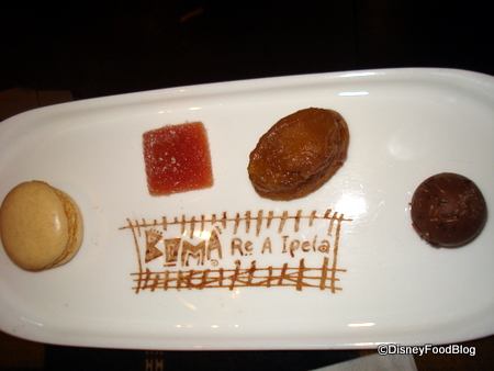 Boma Honeymoon Treat Plate
