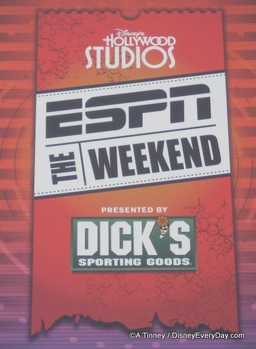 ESPN The Weekend Sign