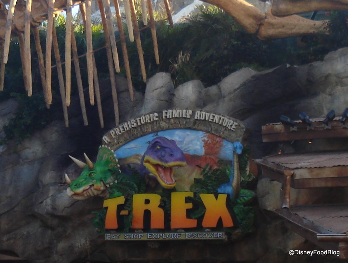 Disney springs restaurants the disney food blog for Disney dining t rex cafe