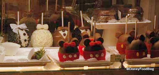 Mickey and Minnie Apples