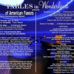 Tables in Wonderland April and May Events Announced