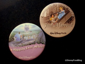 Just Married Buttons