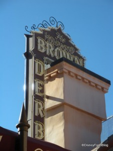 Hollywood Brown Derby Sign