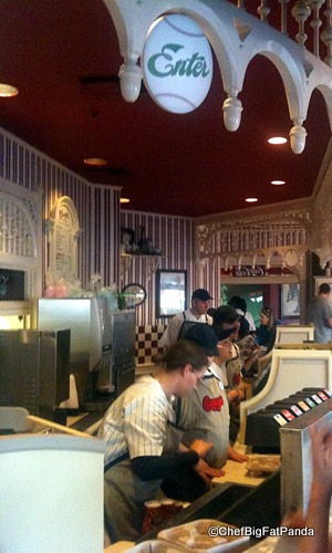 Cast Members Hustle Behind the Counter