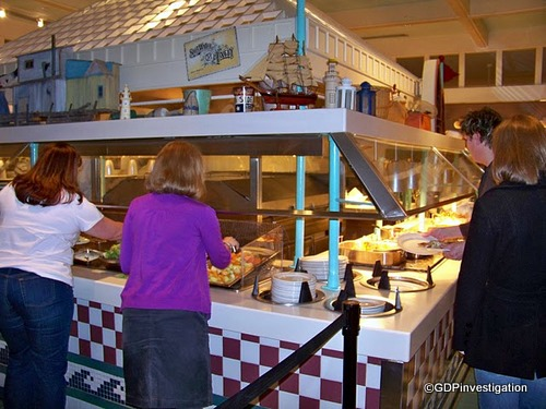 Cape May Cafe Buffet Lines