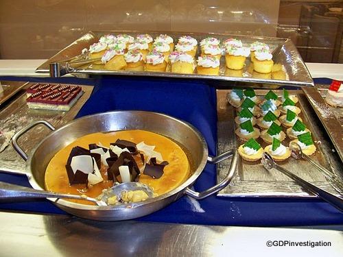 Flan, Key Lime Pie, Cupcakes, Raspberry Cheesecake