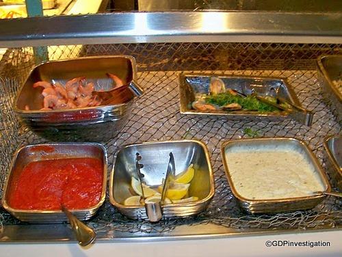 Shrimp and Accompaniments