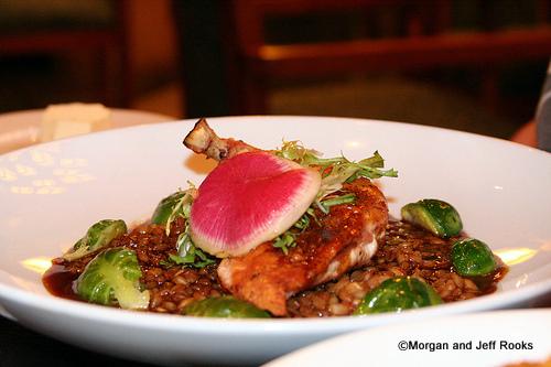 Pan-seared, free range Chicken