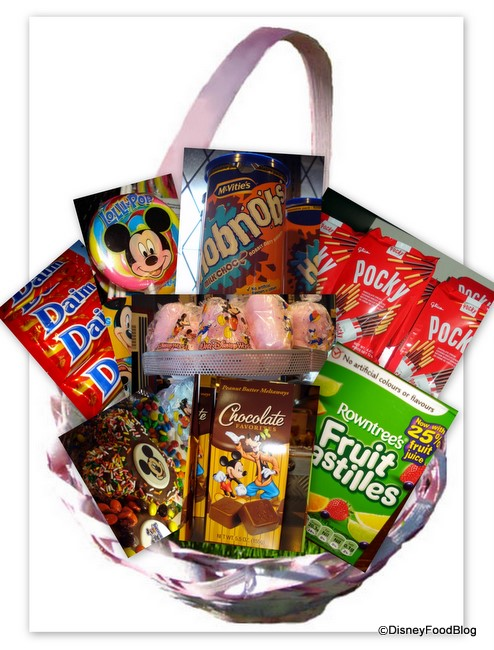 The Disney Food Blog Easter Basket
