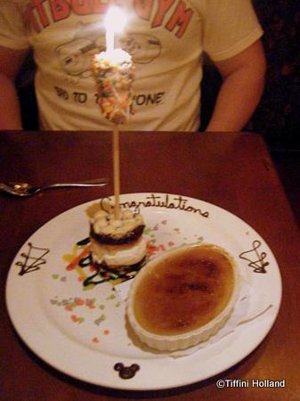 Le Cellier Honeymoon Dessert Presentation