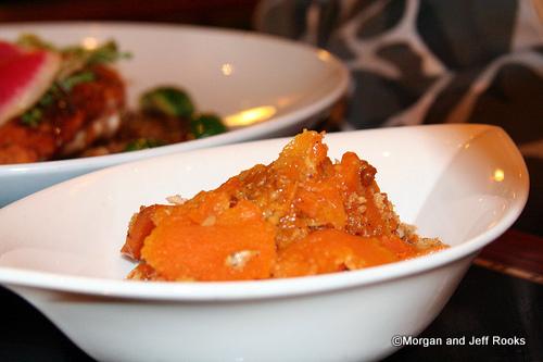 Sweet Potato Hazelnut Gratin