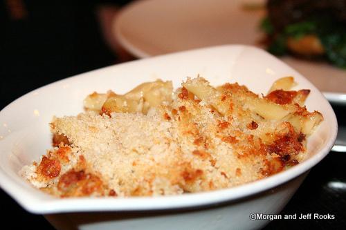 Tillamook Cheddar Mac and Cheese with a Maytag Blue Cheese Crust