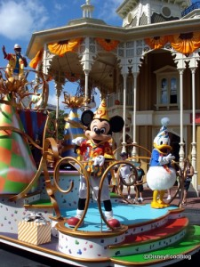 Mickey in the Magic Kingdom!